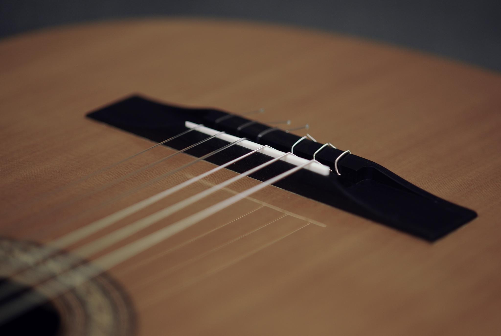 Guitare classique moderne